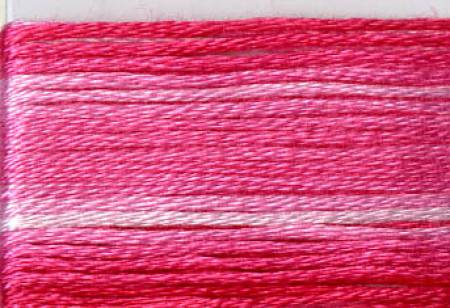 Cosmo Seasons Variegated Embroidery Floss Pinks