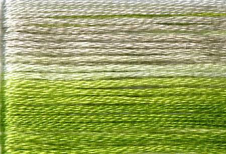8015 Cosmo Seasons Variegated - Greens/Pale Grey -