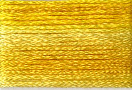 Cosmo Seasons Variegated Embroidery Floss Yellows