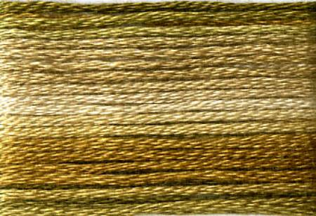 Cosmo Seasons Variegated Embroidery Floss Browns #8035
