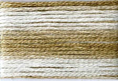Cosmo Seasons Variegated Embroidery Floss Browns - 8038