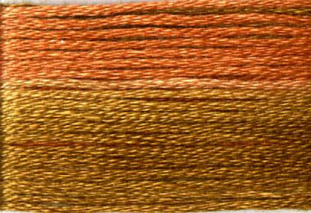 Cosmo Floss Seasons 8048 Light Browns / Rusts