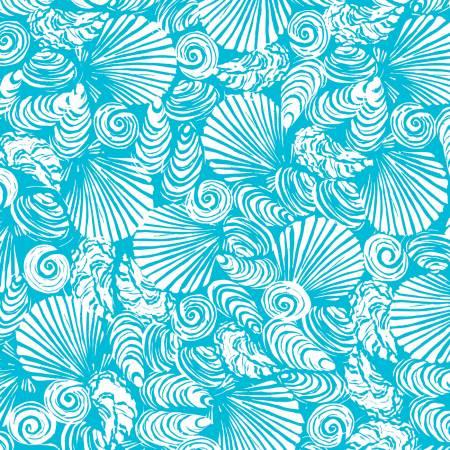 Light Blue Seashells