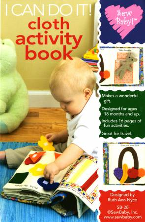 I Can Do It! Cloth Activity Book