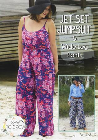 Sew to Grow - Jet Set Jumpsuit