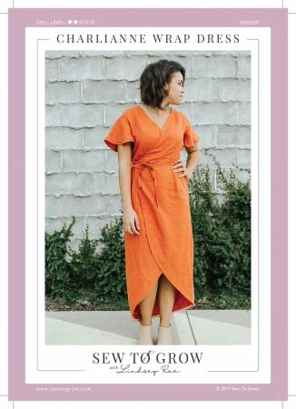 Charli Anne Wrap Dress - Sew to Grow Designs