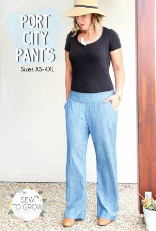 Sew To Grow - Port City Pants