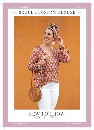 Sew to Grow - Seoul Blossom Blouse