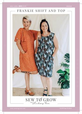 Frankie Shift and Top by Sew to Grow