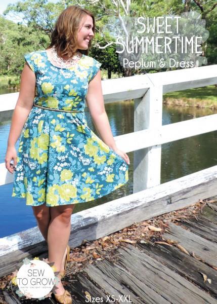 Sew To Grow Sweet Summertime Dress/Peplum