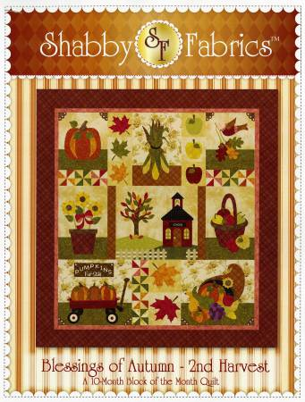 Blessings of Autumn - 2nd Harvest Block of the Month