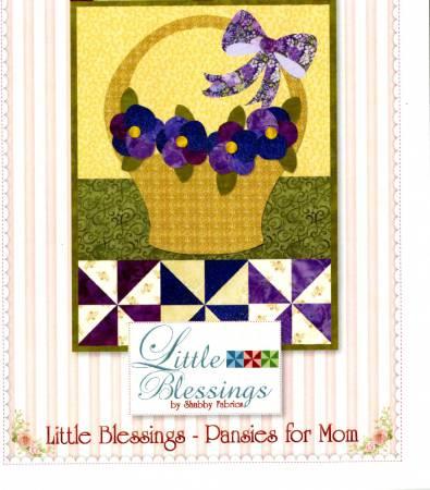 Little Blessings - Pansies for Mom