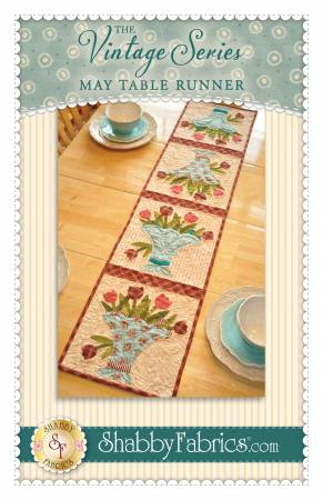 Vintage Series Table Runner - May