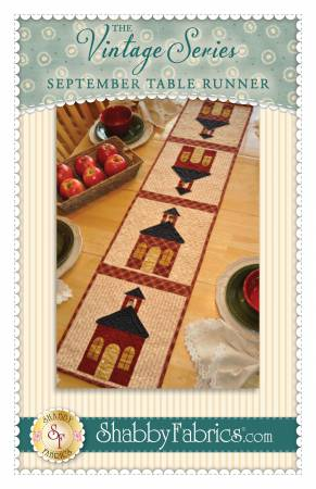 Vintage Series Table Runner - September