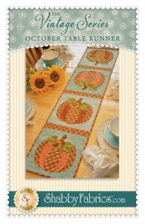 Vintage Series Table Runner - October