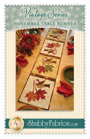 Vintage Series Table Runner - November