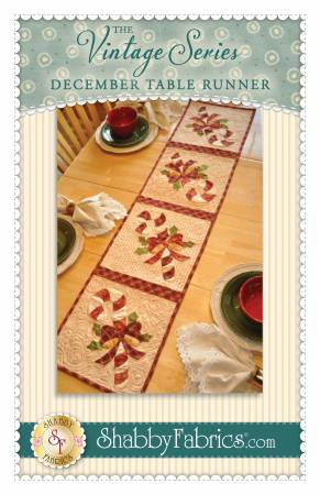 Vintage Series Table Runner - December