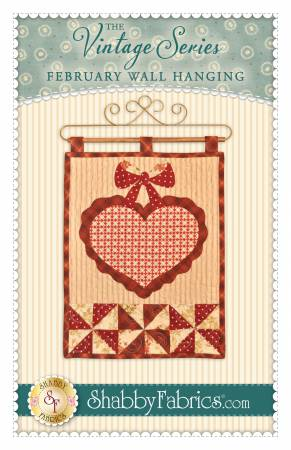 Vintage Series Wall Hanging - February