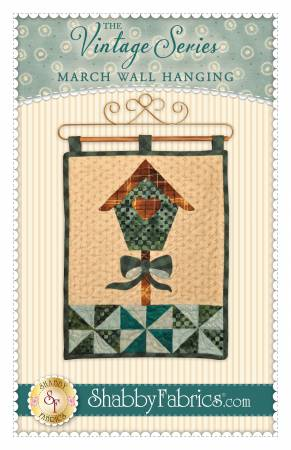 Vintage Series Wall Hanging - March