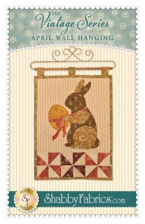Vintage Series Wall Hanging - April