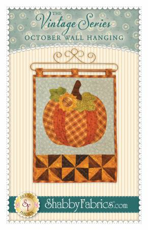 Vintage Series Wall Hanging - October