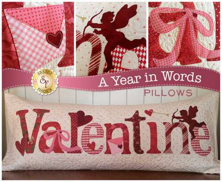 A Year In Words - Valentine Pillow - February