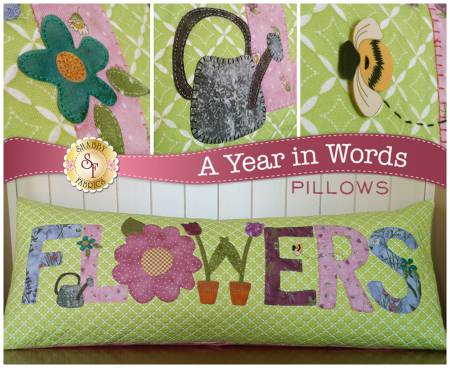 A YEAR IN WORDS PILLOW MAY