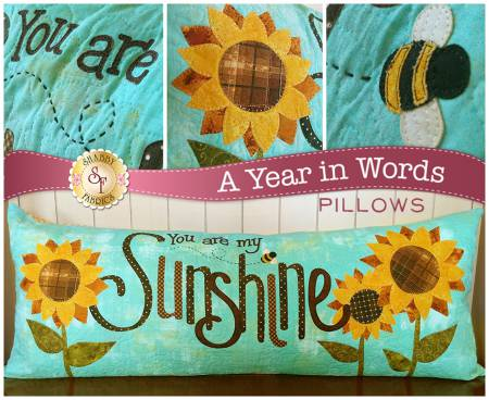 A YEAR IN WORDS PILLOW YOU ARE MY AUGUST