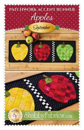 Patchwork Accent Runner Apples September