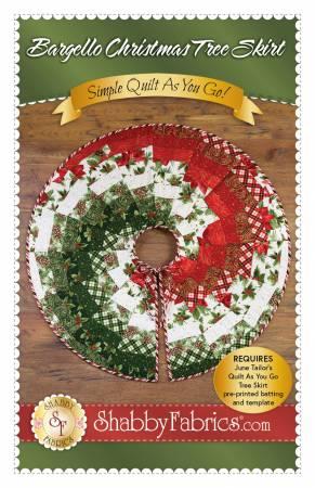 Bargello Christmas Tree Skirt
