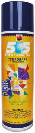 505 Spray & Fix Temporary Repositionable Fabric Adhesive 12.4oz
