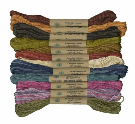6 Ply Floss The Scent Of Flowers 12 Pack