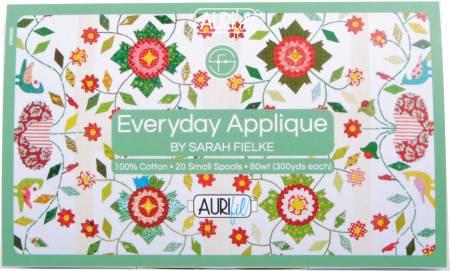 Sarah Fielke Everyday Applique Thread Collection 80wt 20 Small Spools