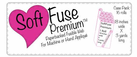 Soft Fuse Paper Backed Fusible Web Tube