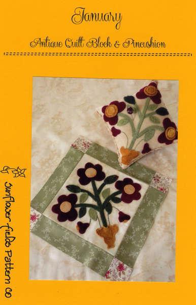 Antique Quilt Block - January