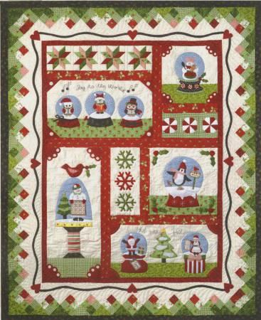 Snow Globe Village Complete Set of patterns