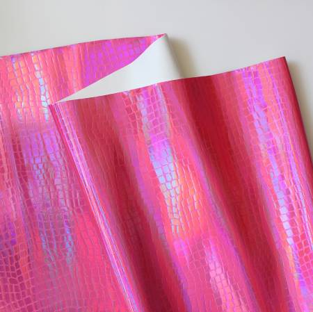 Vinyl Croc Pink 18x52