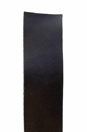 Leather Strap Wide Black