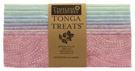 10in Squares, Tonga Batik Smile, 20pcs/bundle