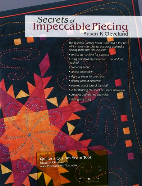Secrets of Impeccable Piecing with Tool - Softcover