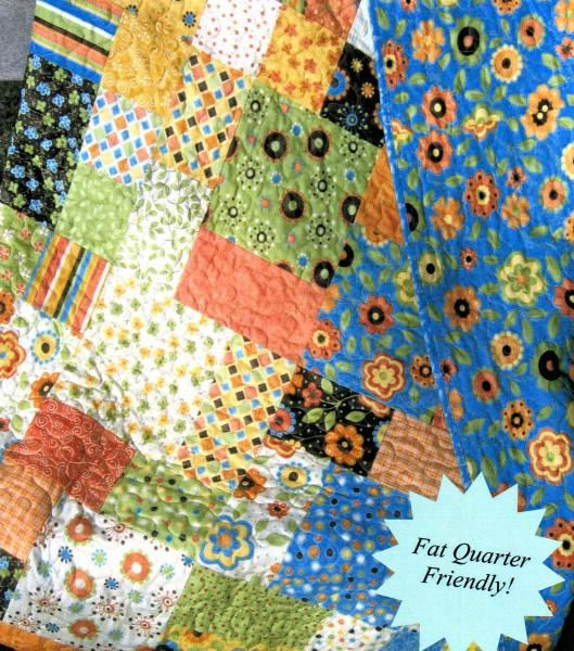 Flowers in the Garden Quilt Pattern by Sweet Jane's Quilting & Design