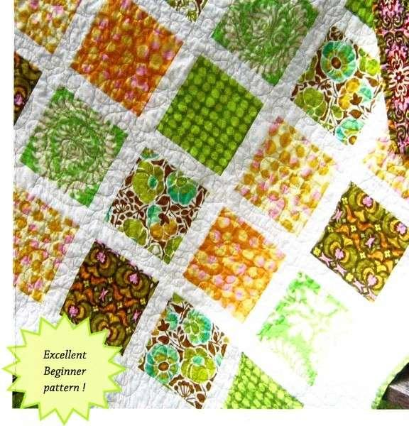 French Window Pane Quilt Pattern by Sweet Jane's Quilting & Design