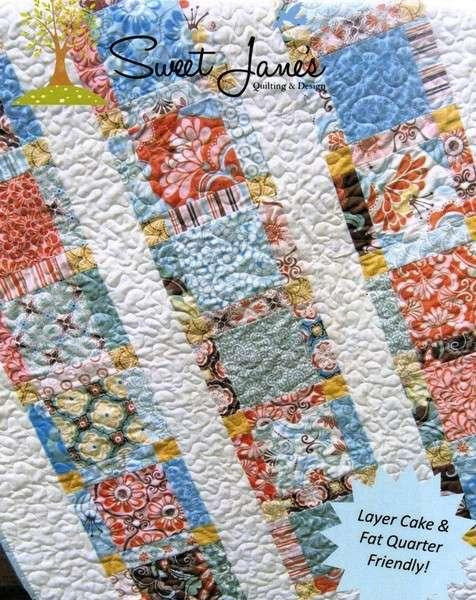 Angel's Staircase Quilt Pattern by Sweet Jane's Quilting & Design