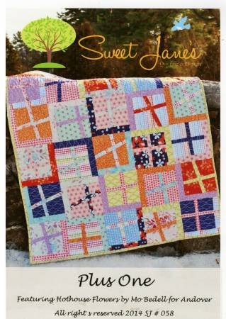 Plus One Baby Quilt Pattern by Sweet Jane's Quilting & Design