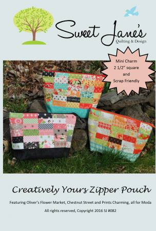 Creatively Your Zipper Pouch