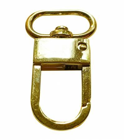 3/4in wide Zipper Lock Brass