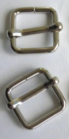 Slide Buckles 5/8in Nickel, (pk/2)