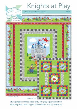 Knights at Play by Seams Like A Dream Quilt Designs