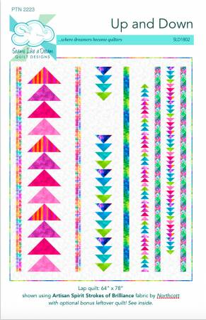 Up and Down Quilt Pattern