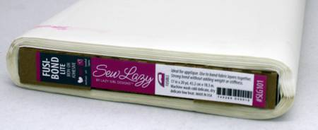 Sew Lazy Fusi-Bond Lite Fusible Adhesive Web Interfacing 17in x 20yd